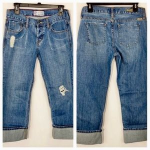 Levi's Strauss Signature Jeans With Cuff Size 5 JR